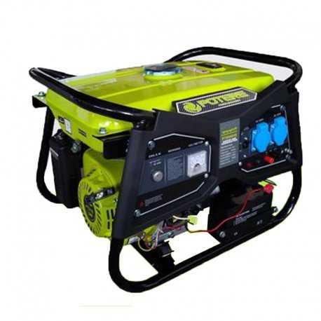 موتور برق بنزینی پوتر 3 کیلو وات استارتی مدل PT 8000 Ves