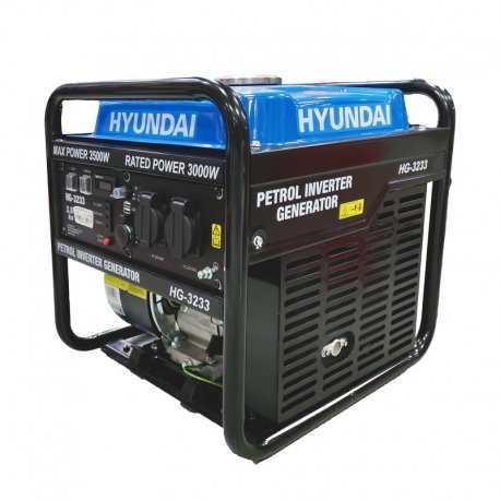 موتور برق 3.5 کیلووات هیوندای مدل HG3233