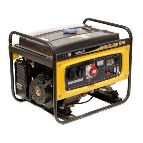 موتور برق کیپور KGE6500X