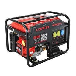 موتور برق لانسین 6 کیلو وات استارتی LC 8000 DAS
